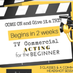 TV Commercial Acting for the Beginners