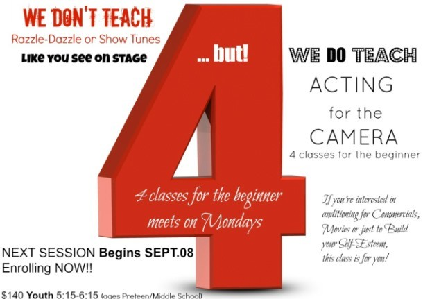 4 Classes Acting SEPTEMBER 08 2014-f1